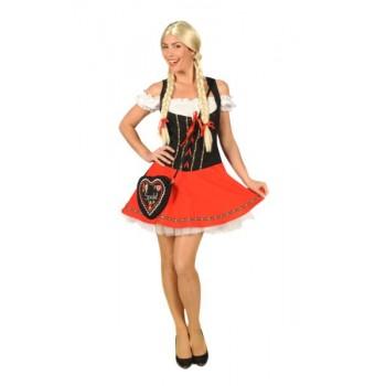 c4b477b448963c Sexy tiroler jurk - aanbieding! ☆ Groot aanbod van feestkleding en feest  artikelen ☆