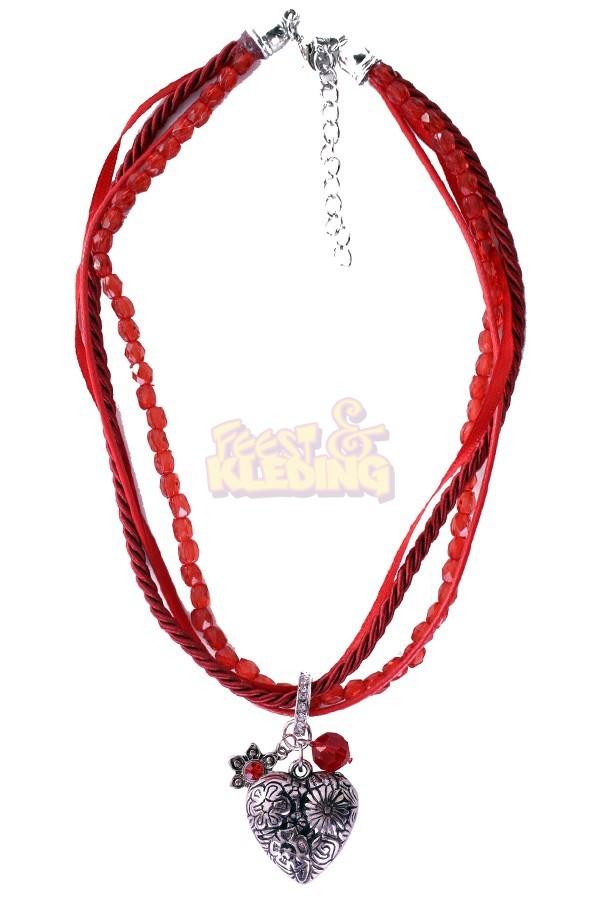 Beroemd Ketting Tiroler Rood ☆ Groot aanbod van feestkleding en feest @YX61