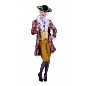 Rococo Dame Kostuum Luxe