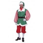 Kerstmans Helper Elf kostuum