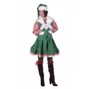Kerstmans Helper Elf Jurk