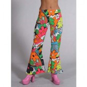Broek Flower Power dames