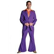 Kostuum 70's paars