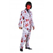 Crazy Halloween Costume Blood
