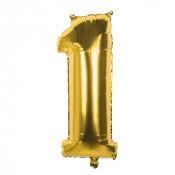Folieballon Goud 1 - 36 cm