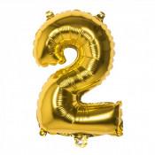 Folieballon Goud 2 - 36 cm