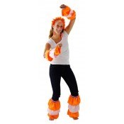 Oranje-Witte Samba Set