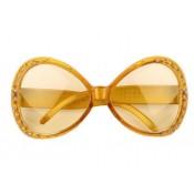 Gouden Bril met strass