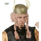Viking Pruik en Snor