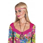 Hippie Peace Set (ketting en oorbellen)