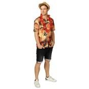Hawaii Blouse Zomer Oranje