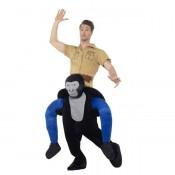 Piggy Back Gorilla Kostuum