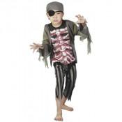 Piraat Brad Bones 4-6 jaar
