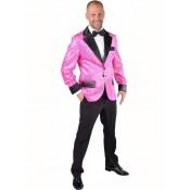 Roze Glitter Colbert
