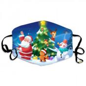Kerst Mondmasker Santa Claus