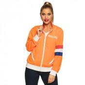 Dames trainingsjack Holland Oranje