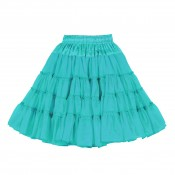 Petticoat Turquoise, 3-laags Luxe
