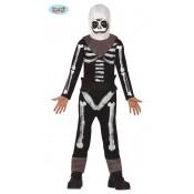 Fortnite Skull Trooper Skin Kostuum Jongens