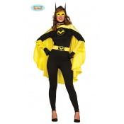 Batgirl Dames Kostuum M/L