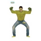 Groen Spierenshirt Hulkpak
