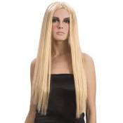 Lange blonde pruik