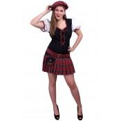 Schotse jurk Nessie dames, AANBIEDING!
