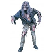 Zombie Skelet kostuum met masker en handschoenen