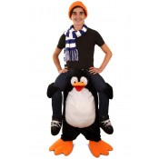 Gedragen door Pinguin Kostuum