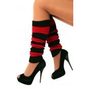 Beenwarmers Rood-Zwart