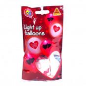 5 x LED Ballon - I Love You