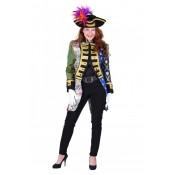 Admiraalsjas Patchwork Luxe Dames Mix Kleuren