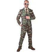 Camouflage Kostuum 3-delig