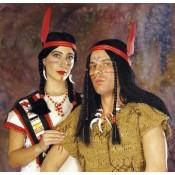 Indianenpruik dame / heer