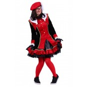 Dames Pietenpak Graciosa Rood-Zwart