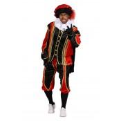 Pietenpak Cadiz met Cape Rood-Zwart