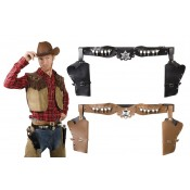 Cowboyholster Dubbel Sherrif