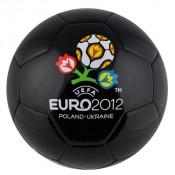 EK 2012 leren bal zwart