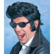 Pruik Elvis bakkebaarden