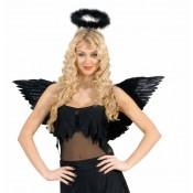 Zwarte engelenvleugels