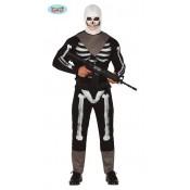 Fortnite Skull Trooper kostuum Volw