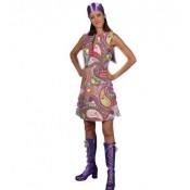 Funky colors jurk gesp