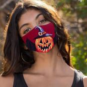 Pompoen Vleermuis Halloween Mondkapje