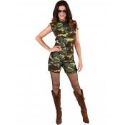 Camouflage Hotpants Legerpakje OP=OP