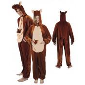 Kangoeroe kostuum met baby