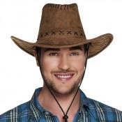 Cowboyhoed Leatherlook Bruin