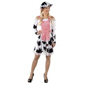 Melkmeisje jurk met pet