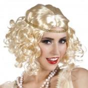 Flapper Pruik Blond met Haarband