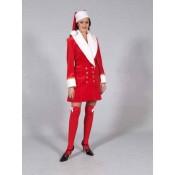 Kerstvrouw jas luxe