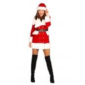 Kerstmeisje Nieve Fluweel Luxe