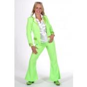 Discopak 70's Fluor groen